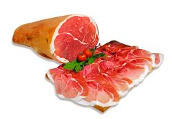 Prosciutto di Parma sliced