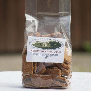 Biscotti farina orzo