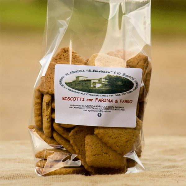 Biscotti di farro