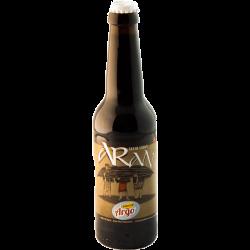 Bottiglia di birra Stout artigianale - Alimentiamo