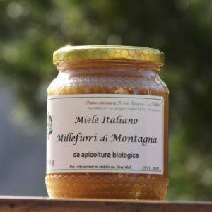Miele millefiori di montagna 500 g