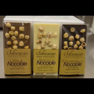 Tavolette cioccolato assortite