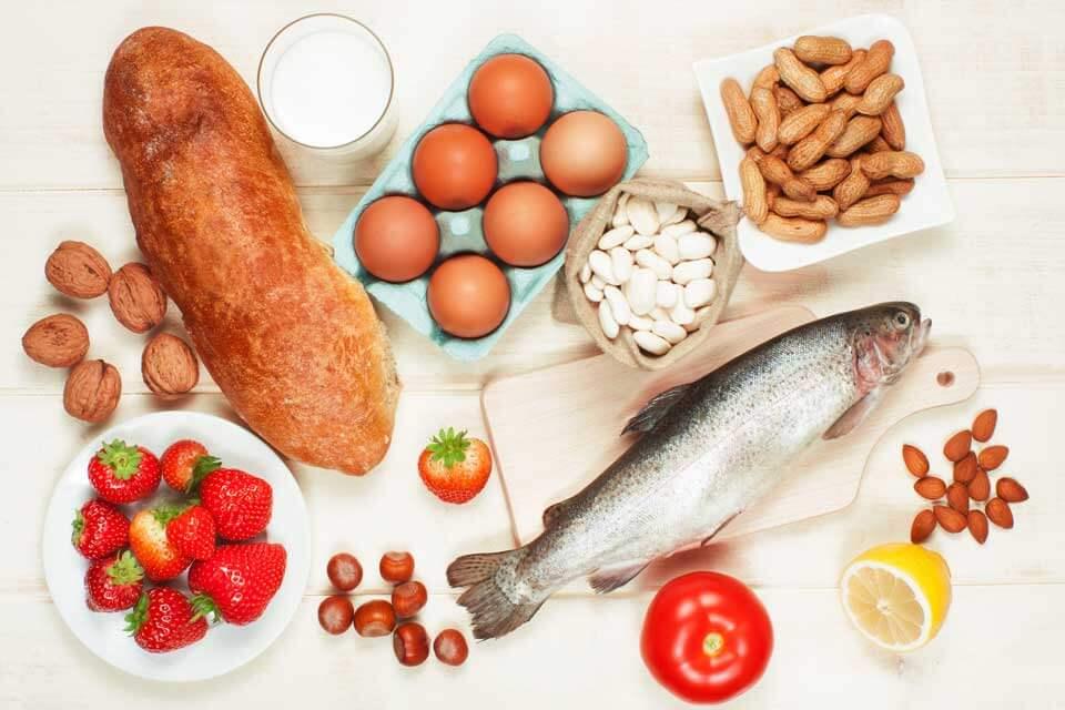 Cibi a rischio allergia alimentare