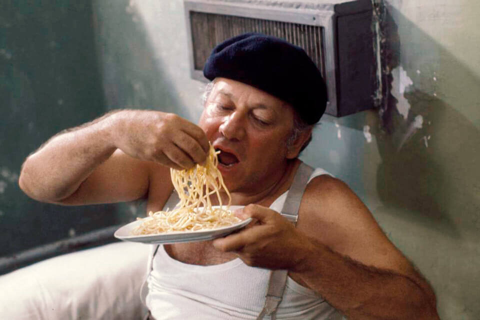 Fantozzi e gli spaghetti